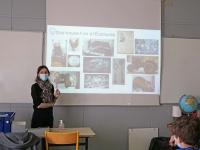 Découverte d'un musée et de l'archéologie pour les élèves de 6ème du collège Vivant Denon de Saint Marcel.