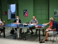 Assemblée Générale masquée pour l'ASL Tennis de table de Châtenoy-le-Royal