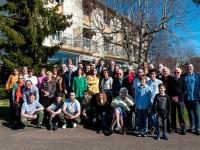Belle réunion familiale pour les 100 ans de Suzanne Sotty Pacholski