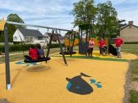 Un premier espace jeux sur la commune de Saint Ambreuil