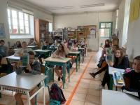 Saint Ambreuil - Des calculettes pour les enfants de CM2