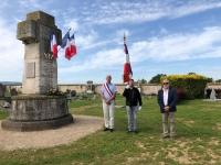 Saint Ambreuil : Maire en exercice et maire élu cote à cote pour ce 8 mai 2020