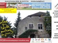 Journées du Patrimoine de Pays et des Moulins à Saint Denis de Vaux