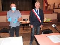 Un second mandat pour le maire Raymond Burdin à Saint-Marcel