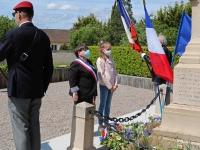 Samedi 8 Mai 2021, commémoration de la victoire 1945.