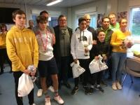 Tennis Club Saint-Rémy : De beaux vainqueurs parmi les 84 participants au tournoi jeunes.