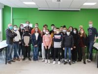 Les jeunes conseillers départementaux du Chalonnais tenaient leur 4ème commission de territoire à la Maison des Associations de Chalon-sur-Saône