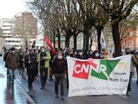 Nouvelle manifestation contre la loi «Sécurité globale» à Chalon-sur-Saône