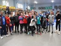 Stage de boxe anglaise pour les jeunes du Cercle Nautique Chalonnais