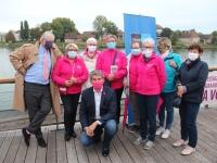 Lancement d'Octobre Rose 2020 à Chalon-sur-Saône