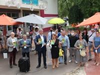 Top départ de la 2ème édition de Quartiers d'été à la Maison de quartier des Aubépins
