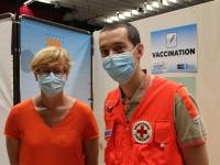 La Croix Rouge Française s'est activement engagée dans la vaccination à Chalon-sur-Saône