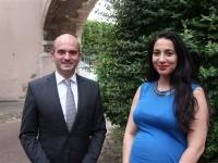 DEPARTEMENTALES - CHALON 2 - Amelle Deschamps et Jean-Vianney Guigue appellent à une mobilisation totale au second tour