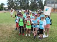 71 enfants du Chalonnais participaient à la Journée de l'Olympisme au Stade Léo Lagrange