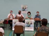 DEPARTEMENTALES - CHALON 2 - Réunion publique de la liste «Ensemble pour un département écologique et social» à la Salle Thévenin