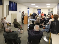 DEPARTEMENTALES - CHALON 2 - Réunion de quartier avec Amelle Deschamps et Jean-Vianney Guigue