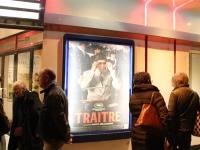 Jeudi soir, pour Halloween, au Mégarama Axel, les cinéphiles ne se sont pas rué pour un film d'horreur mais pour un film sur la mafia, «Le Traître»