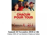 """""""Chacun pour tous"""" - Séance Ciné-ma différence à Chalon"""
