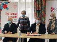 La Mutualité de Saône-et-Loire et la Ville de Chalon signent une convention pour favoriser l'autonomie de séniors