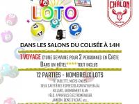 Dimanche 9 février : Super loto de l'Élan Chalon association