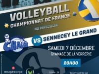 Samedi 7 décembre / VBCC - SENNECEY-LE-GRAND : Ambiance attendue à la Verrerie!