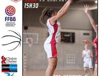 Dimanche 1er décembre (annexe du Colisée) : Deux matchs de basketball