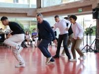Samedi dernier à l'Espace des Arts, Scène nationale Chalon-sur-Saône, Olivier Lefrançois a fait danser le public