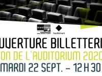 Ouverture de la billetterie de l'Auditorium, Conservatoire du Grand Chalon
