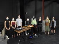 Répétitions des élèves du Conservatoire du Grand Chalon à l'Espace des Arts avec la Cie Fernweh et le collectif La Méandre
