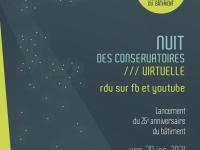 8e Nuit des Conservatoires et 25e anniversaire du bâtiment du Conservatoire du Grand Chalon !