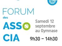 Le Forum des associations givrotines se tiendra bien le samedi 12 septembre