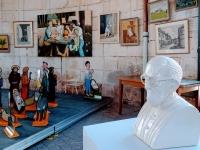 Exposition GF Bruyère à la Halle ronde givrotine