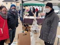 Reprise du marché des producteurs locaux à Givry