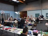 Le Comité de Quartier Centre Pasteur a organisé la 1ère édition de sa brocante Loisirs-créatifs