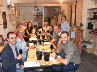 Chalon-sur-Saône : Succès de la soirée dégustation à l'aveugle du Cellier Saint Vincent