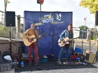 Dans le cadre du Festival  'Garçon, la Note', le  groupe Aron C a enchanté son public !
