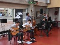 Le jazz manouche s'invite au nouveau restaurant de l'Espace des Art avec le groupe « Swing Folie » !