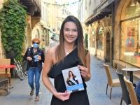 Pour l'élection de Miss Bourgogne,  Anais Jacquot était en campagne ce vendredi matin