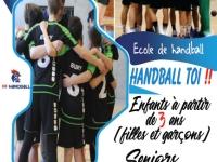 Le Buxy Handball Club fait sa rentrée, venez vous inscrire
