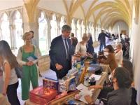 Succès du 1er salon des auteurs de Bourgogne Franche-Comté  'Le cloître des Livres'