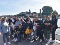 Le parcours découverte et culturel de Chalon-sur-Saône a séduit les personnes en situation de handicap