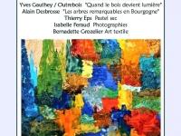 ̏Au pied de mon arbre˝ une exposition à la Ferme de Corcelle de Châtenoy le Royal du 4 au 12 septembre 2021