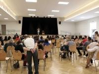 Les olympiades prévues à l'étang Chaumont se sont retrouvées en salle des fêtes