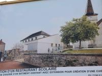950 000 € d'investissement dans un nouveau restaurant scolaire à Crissey pour la rentrée 2022/2023