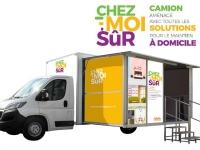 Le Camion « Chez Moi Sûr » sera à Fontaines le vendredi 8 Octobre pour présenter les solutions pour le maintien à domicile