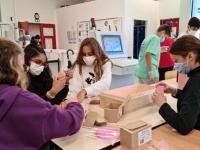 Octobre Rose: le club Solidarité du collège Jean-Vilar met en vente 1 600 savonnettes
