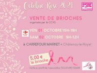 Vendredi 1er et samedi 2 octobre 2021 vente de brioches au profit Toujours Femme
