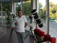 L'oeil et l'objectif de Bastien Villeboeuf pour scruter les étoiles