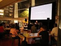 Un moment électro-poétique et des messages percutants au service de l'urgence écologique