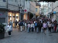 Rassemblement contre le pass sanitaire à Chalon-sur-Saône : plus de 200 manifestants mercredi soir